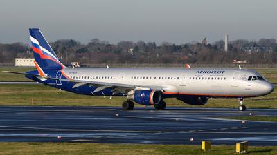 A picture of VPBAV - Airbus A321211 - Aeroflot - © Bjoern Huke
