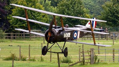 G-BOCK - Sopwith Triplane - Private