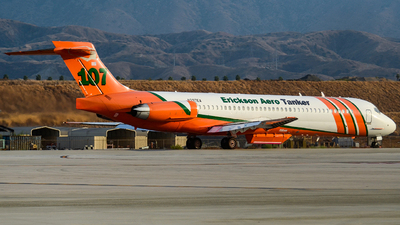 N297EA - McDonnell Douglas MD-87 - Erickson Aero Tanker