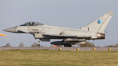 A picture of ZK333 - Eurofighter Typhoon FGR.4 -  - © Robert Smith