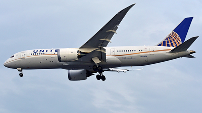 N20904 - Boeing 787-8 Dreamliner - United Airlines