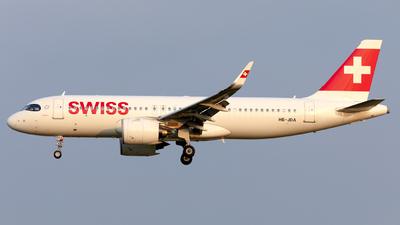 A picture of HBJDA - Airbus A320271N - Swiss - © Kris Van Craenenbroeck