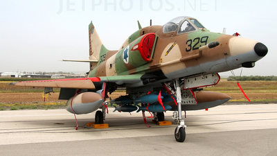 329 - McDonnell Douglas A-4N Improved Ayit - Israel - Air Force