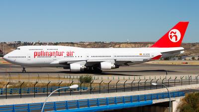EC-KSM - Boeing 747-412 - Pullmantur Air