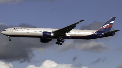 A picture of VQBQM - Boeing 7773M0(ER) - Aeroflot - © Nick Farrington