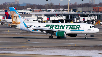 A picture of N232FR - Airbus A320232 - Frontier Airlines - © Steve Rinde