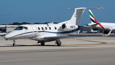 A picture of N1873 - Embraer Phenom 300 - [50500348] - © Bruce Leibowitz