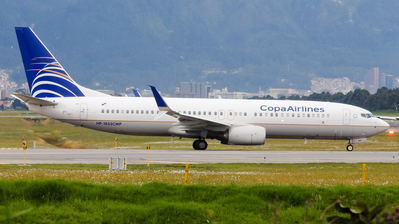 HP-1853CMP - Boeing 737-8V3 - Copa Airlines