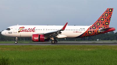 PK-BDF - Airbus A320-251N - Batik Air