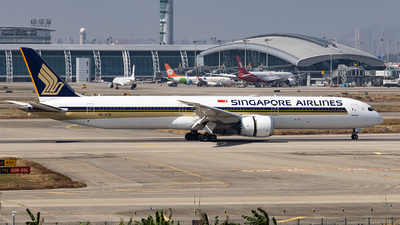 9V-SCB - Boeing 787-10 Dreamliner - Singapore Airlines