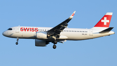 A picture of HBJDC - Airbus A320271N - Swiss - © Stefan Bayer
