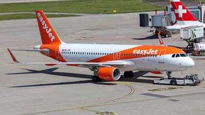 A picture of HBJXN - Airbus A320214 - easyJet - © Kurt Greul