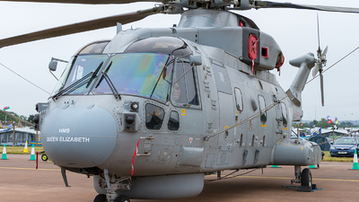 ZH854 - Agusta-Westland Merlin HM.2 - United Kingdom - Royal Navy
