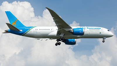 A picture of 5HTCG - Boeing 7878 Dreamliner - Air Tanzania - © Charlie