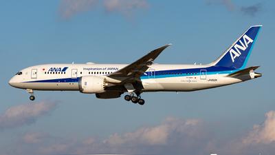 A picture of JA822A - Boeing 7878 Dreamliner - All Nippon Airways - © Sebastian Sowa