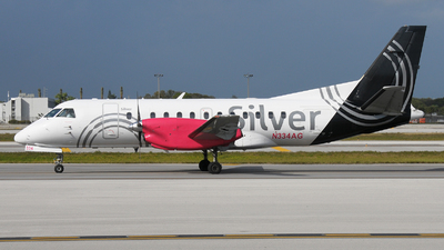 N334AG - Saab 340B+ - Silver Airways