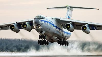 RA-78807 - Ilyushin IL-76MD - Russia - Air Force
