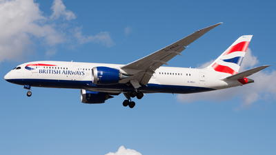 G-ZBJJ - Boeing 787-8 Dreamliner - British Airways