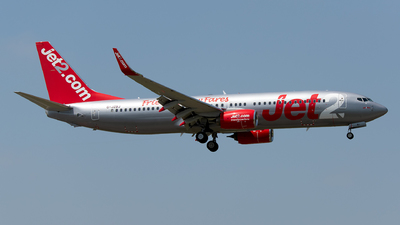 A picture of GJZBJ - Boeing 7378MG - Jet2 - © Rui Marques