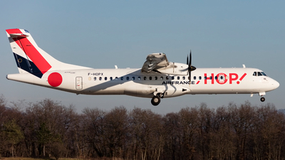 F-HOPX - ATR 72-212A(600) - HOP! for Air France