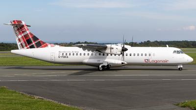 A picture of GFBXA - ATR 72600 - Loganair - © Moritz Klöckner