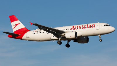 A picture of OELBU - Airbus A320214 - Austrian Airlines - © Thomas Ernst