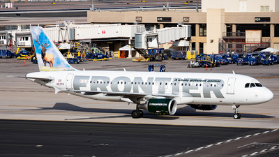A picture of N213FR - Airbus A320214 - Frontier Airlines - © Alexander Owen