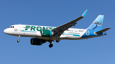 N368FR - Airbus A320-251N - Frontier Airlines