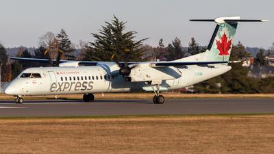 A picture of CGGMI - De Havilland Canada Dash 8400 - Air Canada - © Brandon Siska
