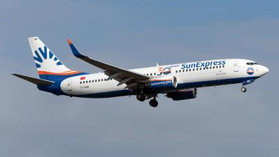 A picture of TCSON - Boeing 73786J - SunExpress - © Sebastian Thiel