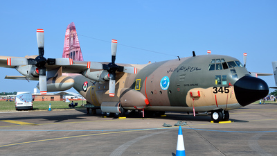 345 - Lockheed C-130H Hercules - Jordan - Air Force