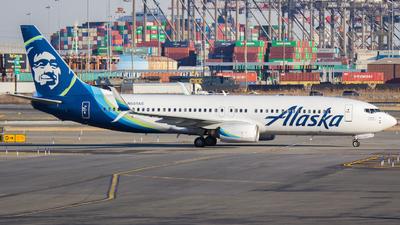 N551AS - Boeing 737-890 - Alaska Airlines