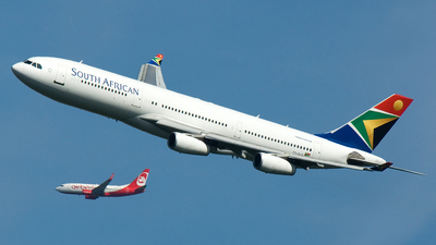 ZS-SLD - Airbus A340-211 - South African Airways