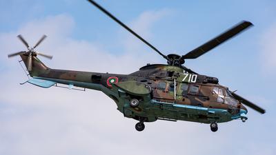 710 - Eurocopter AS 532AL Cougar - Bulgaria - Air Force