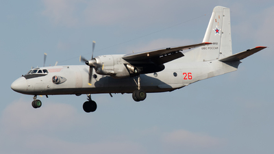 RF-36162 - Antonov An-26 - Russia - Air Force