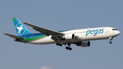 A picture of VPBMC - Boeing 7673Q8(ER) - Pegas Fly - © Firat Cimenli