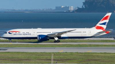 G-ZBKJ - Boeing 787-9 Dreamliner - British Airways