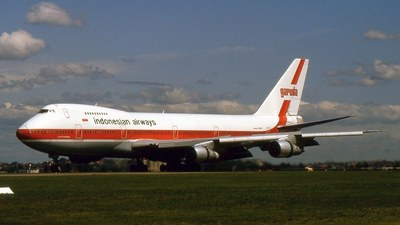 PK-GSD - Boeing 747-2U3B - Garuda Indonesia