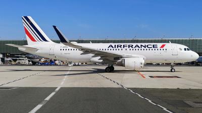 F-HEPH - Airbus A320-214 - Air France