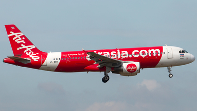 A picture of HSABR - Airbus A320216 - AirAsia - © Hon Kit