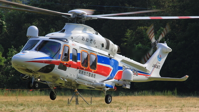 JA83KT - Agusta-Westland AW-139 - Japan - National Traffic Ministry