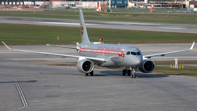 A picture of CGNBN - Airbus A220371 - Air Canada - © Hongyu Wang