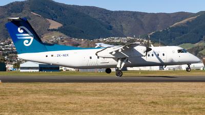 A picture of ZKNEK - De Havilland Canada Dash 8300 - Air New Zealand - © Cody Forward