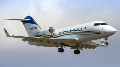 N372MZ - Bombardier CL-600-2B16 Challenger 604 - Private