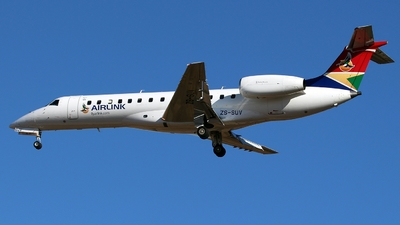 ZS-SUV - Embraer ERJ-135LR - Airlink