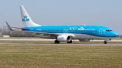 A picture of PHBXB - Boeing 7378K2 - KLM - © Freek Blokzijl