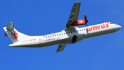 PK-WHP - ATR 72-212A(600) - Wings Air