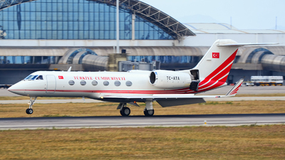 TC-ATA - Gulfstream G-IV - Turkey - Government