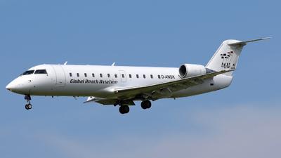 D-ANSK - Bombardier CRJ-100LR - Global Reach Aviation