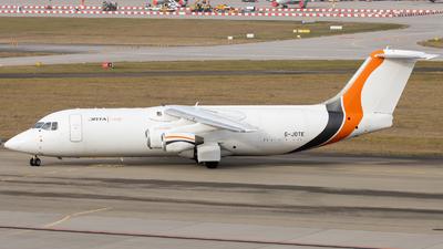 A picture of GJOTE - BAe 146300QT - Jota Aviation - © Justin Stöckel